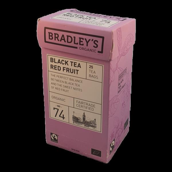 Bradley's Earl grey 25 theezakjes per doos Prijs:€ 3,00Inbegrepen btw 9%€ 0,25 Plus verwerkings- en verzendkosten.