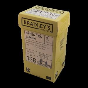 Bradley's green tea lemon